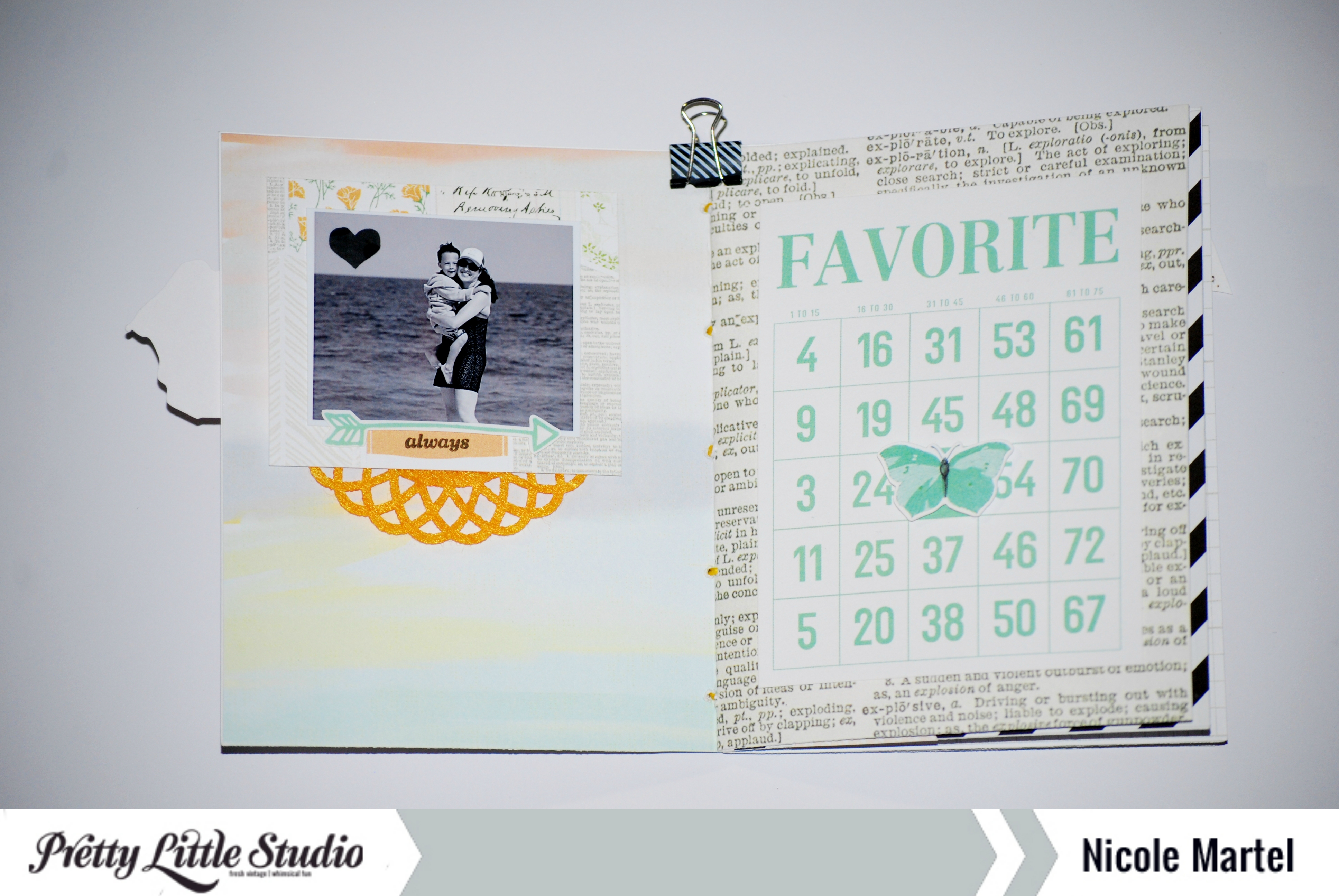 Pretty Little Studio_Mini book_Nicole Martel_Page1