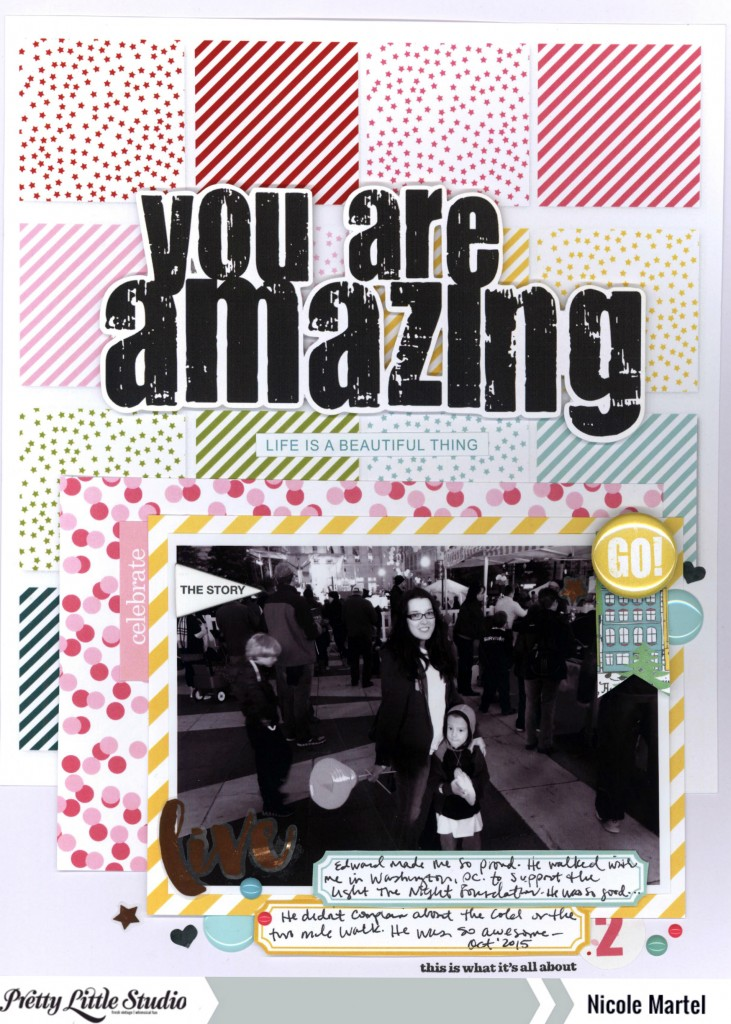 you are amazing_pretty little studio_nicole martel_layout