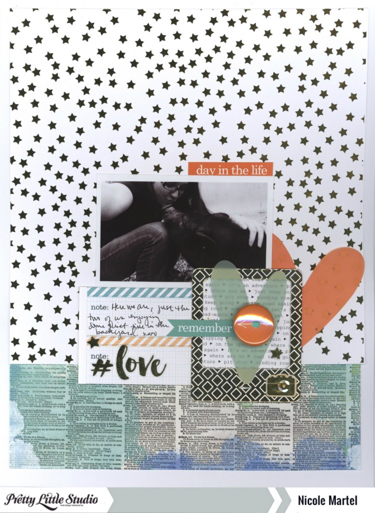 day in the life_Pretty Little Studio_Nicole Martel_layout_Studio Calico