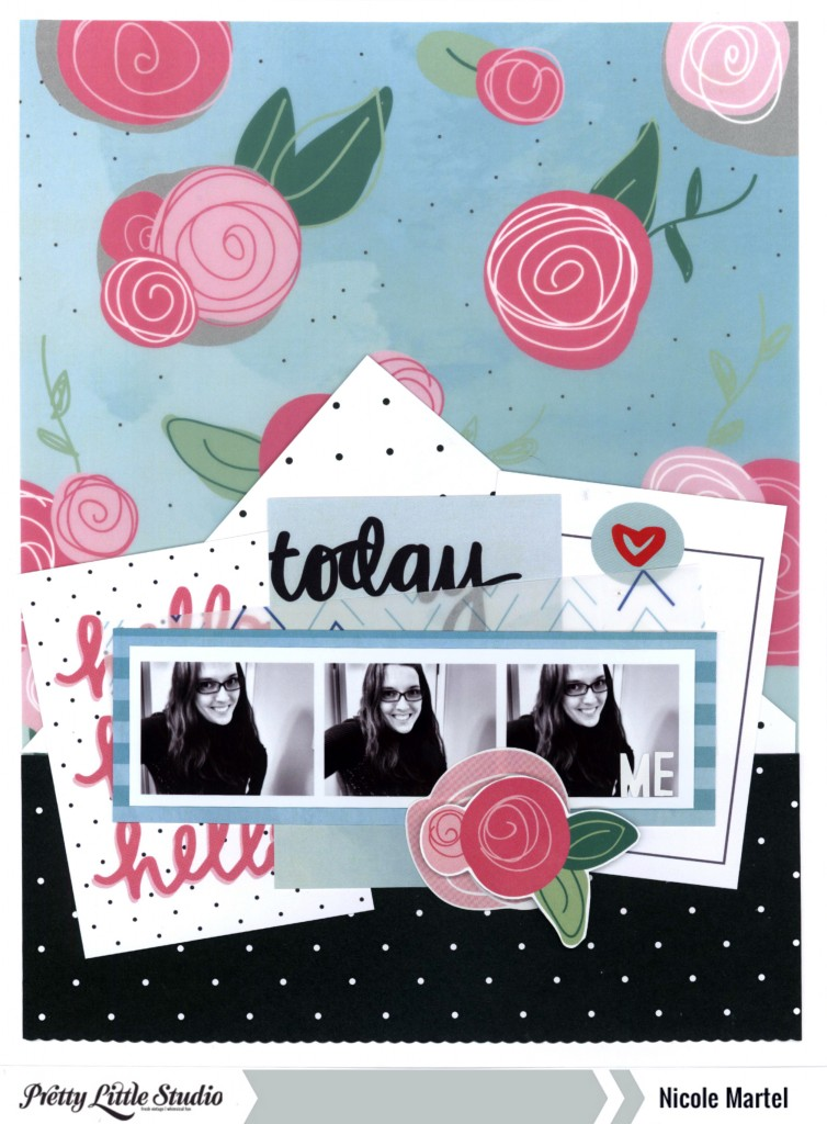hello today_Pretty Little Studio_Nicole Martel_Layout