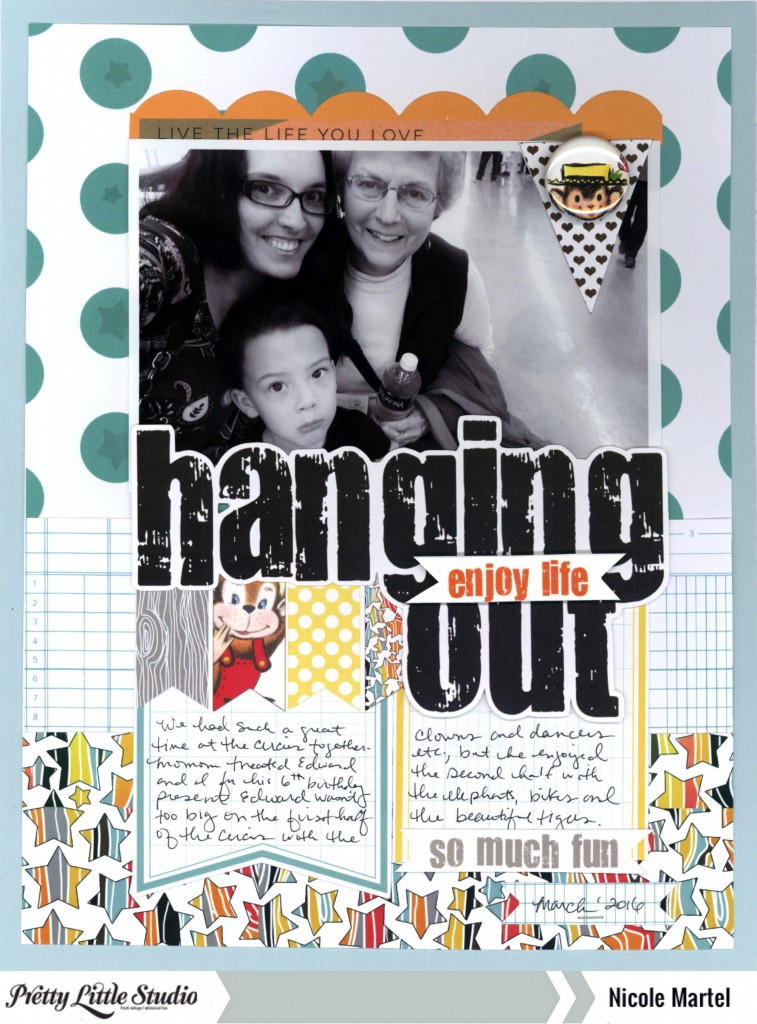hangin out_Pretty Little Studio_Nicole Martel_layout