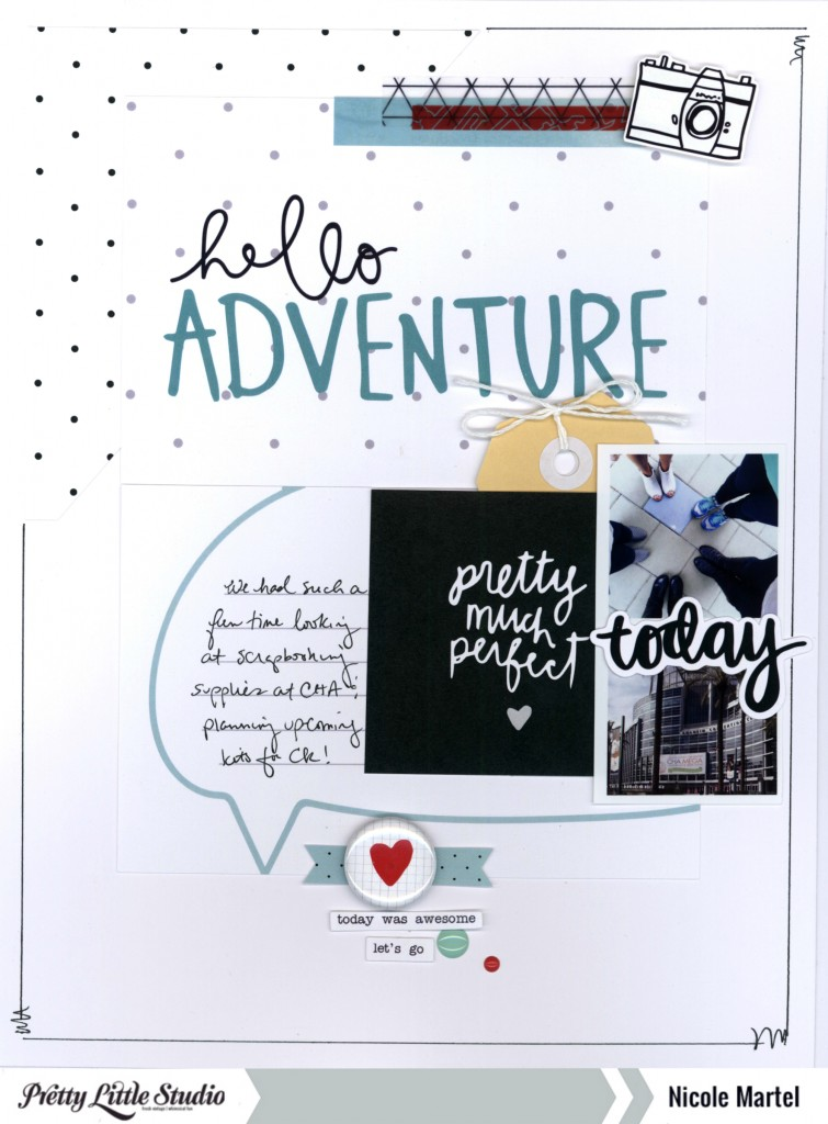 hello adventure_Pretty Little Studio_Nicole Martel_layout_Fancy Pants Designs