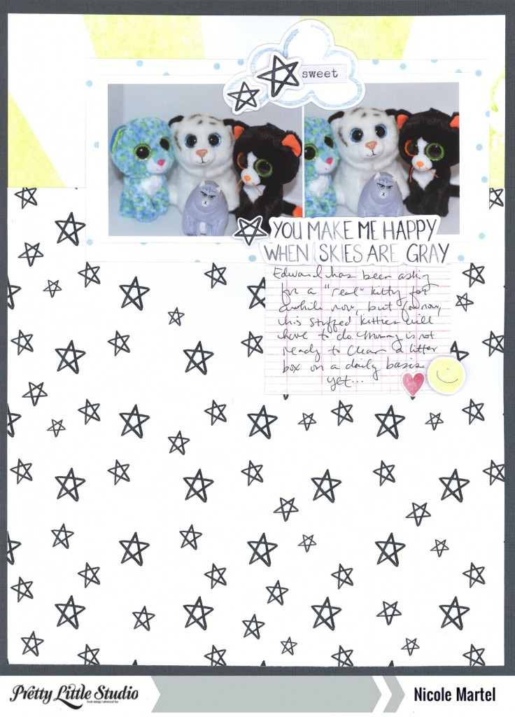 you make me happy when skies are gray_pretty little studio_shimmerz paints_nicole martel_layout 001