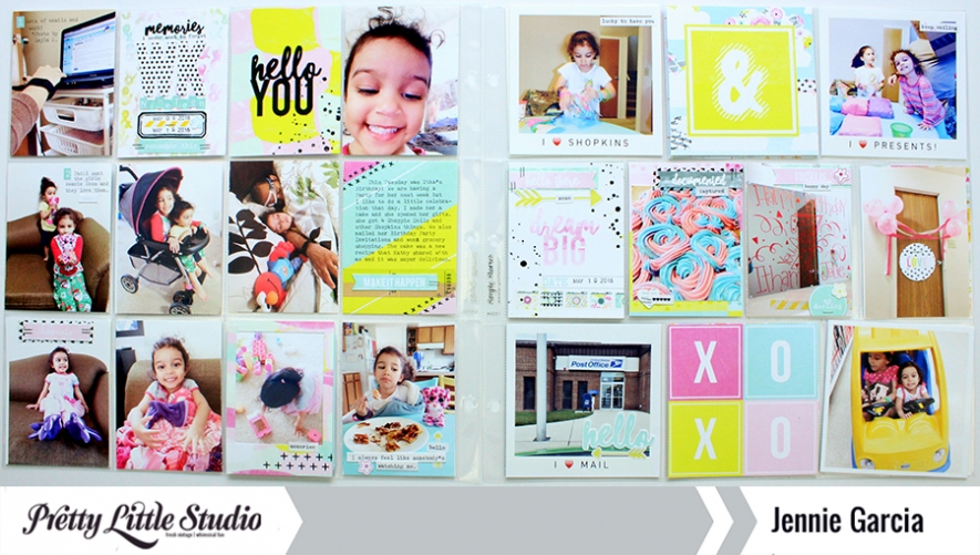 Pocket Pages by @jenniegarcian using the Dream Big Collection from Pretty Little Studio