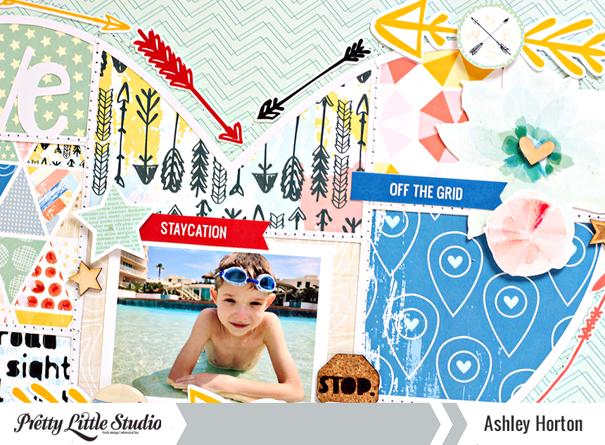 Get Away by Ashley Horton, using Wish You Were Here from Pretty Little Studio.  @ahorton #prettylittlestudio